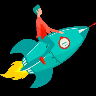 illustration-commercee-fusée